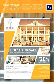 Free House Flyer Template House Flyer Template Car Rental For Rent Design Chaseevents Co