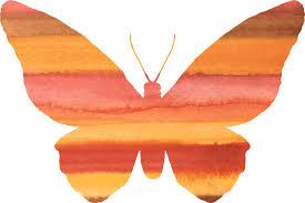 orange clipart png. kupu kupu, clipart, orange, cat air, lucu, penerbangan orange clipart png