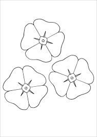 poppy template 19 poppy coloring pages pdf jpg free premium templates