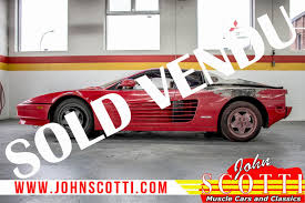 Used 1988 Ferrari Testarossa (4 Car Bundle) for Sale in Montreal ...