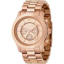 michael kors watches men 039 s rose gold oversize runway image is loading michael kors watches men 039 s rose gold