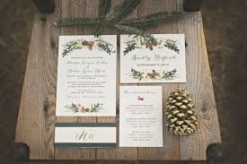 Rustic Winter Wedding Invitations Ultra Cozy Handmade Christmas Wedding Wedding Ideas Pinterest