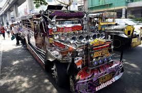 dinosaur philippine jeepneys face