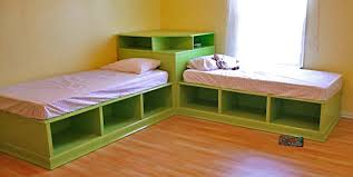 twin storage bed. Ana White Corner Hutch Plans For The Twin Storage Beds DIY Projects In With Underneath Idea 18 Bed