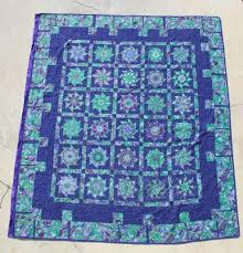 Purple & Green Quilt with gold threads » Custom Made Quilts ... & king size 95