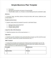 basic business plan template co basic business plan template