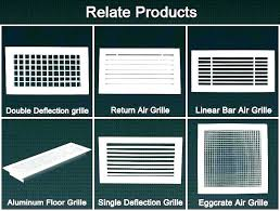 Filter Grill Sizing Chart Return Air Grille Sizes Samanvoyage Com