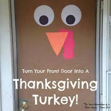 thanksgiving front door decorationsThanksgiving Door Decoration Crafts  divascuisinecom