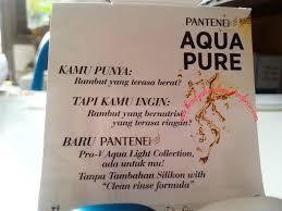Review Pantene Pro V Aqua Pure