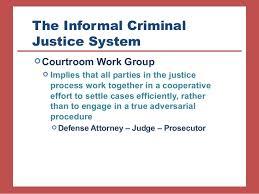 Criminal Justice Definition Courtroom Work Group Definition Courtroom Workgroup Definition Of
