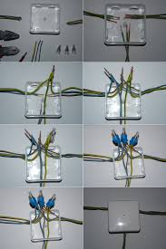 file junction box with wire nuts jpg wikimedia commons Junction Box Wiring Diagram 2011 file junction box with wire nuts jpg Residential Wiring Junction Box