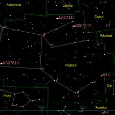 Pegasus Star Chart Pegasus Universe Today