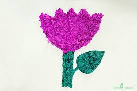 Paper Crafted Flowers How To Make Paper Flowers For Kids