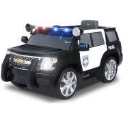 Rollplay Chevy Tahoe Police Suv Volt Battery Powered Ride On