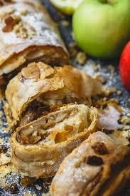 Easy Apple Strudel Recipe With Phyllo Dough The Mediterranean Dish