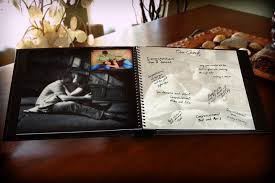 Guest Books Youll Actually Display Vivid Expressions