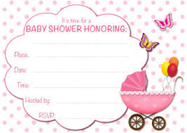 baby shower invitation blank templates printed baby shower invitations printed baby shower invitations with