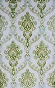 Groen Vintage Damast Behang Vintage Wallpapers