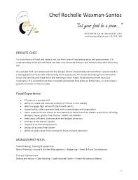 Sample Chef Resume Chef Resume Sample Examples Sous Chef Jobs Free ...