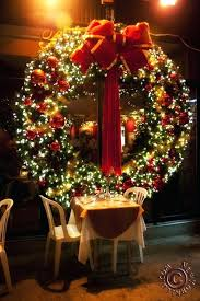 large lighted wreaths a fine and private place photo outdoor wreath large outdoor lighted wreaths canada