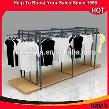 T Shirt Display Stand shop portable tshirt floor display stand t shirt display racks 7