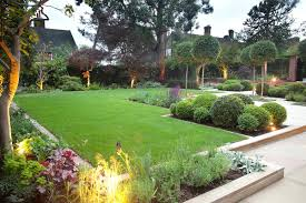 Small Picture Simple Garden Design For Large Gardens Ideas Photo 4 Decorating