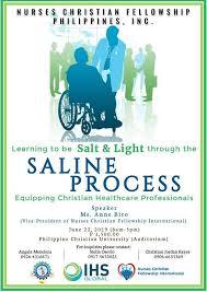 Ncf Saline Process Witnessing Program At Philippine