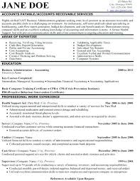 Sample Accounts Receivable Resume Sample Accounts Receivable Cover