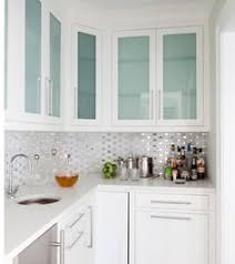 Image Shaker Style 55 Amazing Modern Kitchen Cabinets Ideas kitchens kitchencabinets kitchenideas Pinterest White Kitchen Cabinets With Frosted Glass Doors Shaylas Loft In