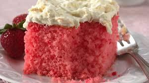 Strawberry Tropics Cake Recipe Bettycrockercom