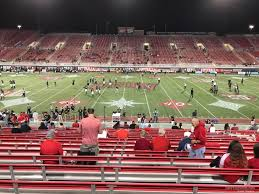 Sam Boyd Stadium Virtual Seating Chart Sam Boyd Stadium Section 128 Rateyourseats Com