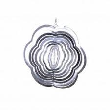 garden ornaments and accessories. Flower Shaped Steel Windspinner For The Garden Ornaments \u0026 Accessories #gardening #nature Www And C