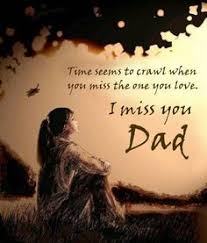 i miss you dad x