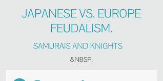 Samurai Vs Knight Venn Diagram Japanese Vs Europe Feudalism By Madisonlong Infogram