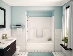 basketweave tile bathroom. Blue White Bathroom Decorating Design Ideas Using Black And Basket Weave Tile Basketweave L