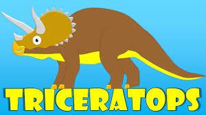 Resultado de imagen de Triceratops dibujo niños