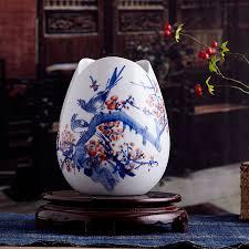 get ations jingdezhen ceramic blue and white porcelain vase small vase flower holder flower fashion home decoration crafts
