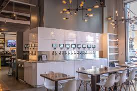just ask rob mcshea bar director at whiphand american brasserie and beer bank a recently opened spot in downtown s east village where the beertails are a