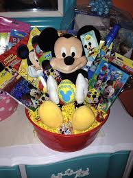 mickey mouse easter basket made by me