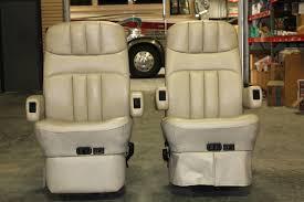 flexsteel rv captain chair set w power footrest rv furniture