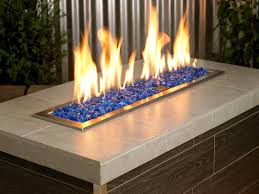 12 photos gallery of fire pit glass a modern trend