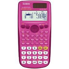com casio fx 300es plus scientific calculator pink casio electronics