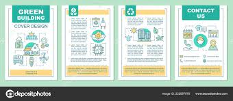 Green Layouts Green Building Brochure Template Layout Eco Friendly