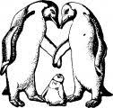 Just Dance Penguin Happy Feet Coloring Page Wecoloringpagecom