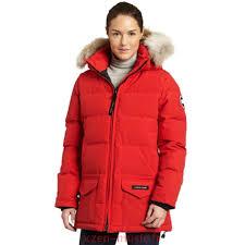 2018 Canada Canadienne Goose Femme Popular Solaris Parka Rouge