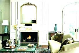 mirror above fireplace mirror over fireplace the mantel mirrors