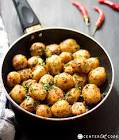 baby potatoes with cumin