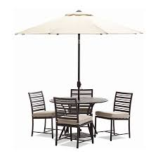 Patio Dining Set With Umbrella Decor Cape Atlantic Decor Best