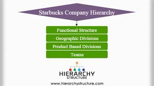 Organizational Chart For A Coffee Shop Starbucks Company Hierarchy Chart Hierarchystructure Com