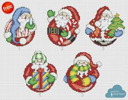 Free Printable Counted Cross Stitch Charts Christmas Santa Cross Stitch Chart Pdf Xsd Download